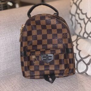 Checkered Backpack!